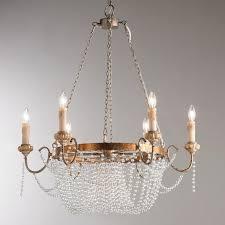 crystal dd iron chandelier