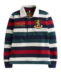 love this red white stripe winner rugby champions shirt toddler boys
