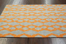 gray and orange area rug wonderful excellent modern contemporary blue grey yellow orange hand hooked with gray and orange area rug