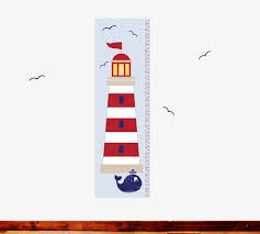 Nautical Growth Chart Growth Chart Nautical Growth Chart Wall Decals