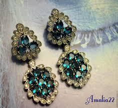 earrings handmade livemaster handmade earrings julia blue topaz london