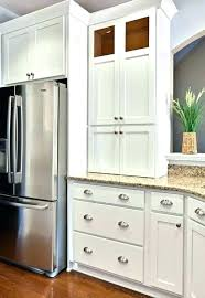 white kitchen cabinets with glass knobs glass n cabinet knobs with stainless pulls blue white kitchen