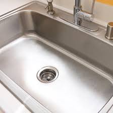 How To Clean Bathroom Sink Drain Best How To Clean Your Stainless Steel Sink POPSUGAR Smart Living