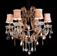 get ations k9 crystal chandelier lamp 6 european modern light cognac colored living room dining room bedroom