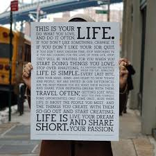 This Is Your Life Quote Interesting This Is Your Life Quote