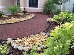 Backyard Landscaping Ideas No Grass  Marvellous Small Picket Fence Garden  Ideas Front Yard Landscaping Ideas