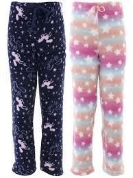 Delias Clothing Size Chart Delia S Unicorn Navy 2 Pack Fleece Pants For Girls