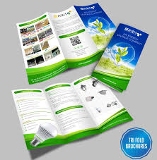 Brochures Tri Fold Brochures Designing Printing Solution Online