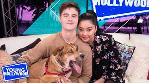 Lana Condor & Anthony De La Torre Take a Love Quiz with Each Other - YouTube