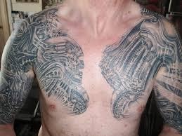татуировки на грудной клетке мужские 15 Tatufotocom