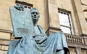hume s call to action the nation a bronze statue of david hume in edinburgh scotland ap