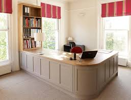 creating home office. classic home office with storage solutions from rencraft creating