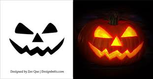 5 Easy Yet Simple Halloween Pumpkin Carving Patterns / Stencils for Kids  2015 | Crafty crafts | Pinterest | Pumpkin carving patterns, Pumpkin  carvings and ...