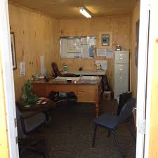 Storage container office Metal Walking Into 20x8 Office Space Custom Built Out Of Storage Container Oregonlivecom 20 High Security Office Containers Scott Box Texasscott Box Texas