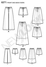 Simple Skirt Pattern Fascinating New Look Pattern Review 48 Threads