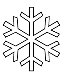 Snowflakes Template Pdf Snowflake Patterns Magdalene Project Org