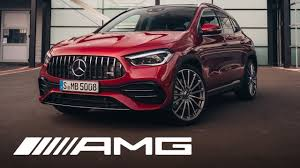 Climb into the new gla and just head off: Mercedes Amg Gla 35 4matic 2020 Walkaround Youtube