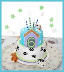 Dog Birthday Decorations Puppies Cake Decorations The Cutest Puppies