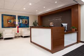 reception desks for offices custom counters curved desk clipgoo home office designs this receptionist design salon lighting image of regarding apartment