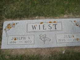 Julia Wiest (1895-1973) - Find A Grave Memorial