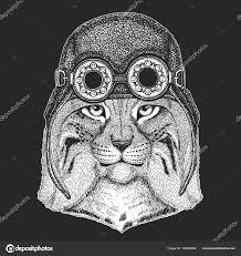 дикая кошка Bobcat Lynx рысь руки обращается изображения для тату