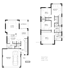 narrow lot 3 story house plans luxury two story home plans with open floor plan elegant
