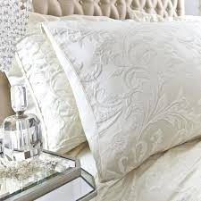 ivory duvet covers luxury jacquard cover set cream king size