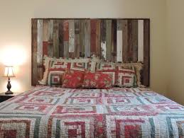 Rustic Reclaimed Barn Wood Wall Mounted Country Headboard (Many Color  Options!)   eBay