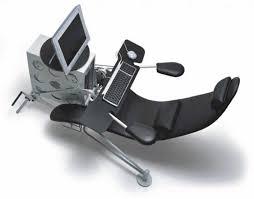 ergonomic pedestal computer desk and chair idea