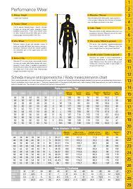 Ducati Size Chart Ducati Sizing Charts