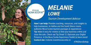TNSHeretoHelp - Melanie Lowe | Tourism Nova Scotia