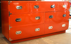 lacquer furniture modern. How To Lacquer Furniture Modern Orange Campaign Style Chest Mid Century Throughout 8