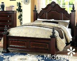 cherry wood bedroom set solid