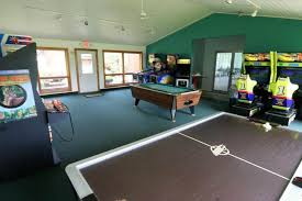 game room lighting. Large Game Room With Green Wall Accent Colors And Using Track Lighting