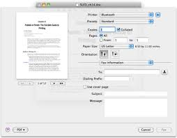 How To Fax From Mac How To Send A Fax From Mac Snow Leopard Dummies