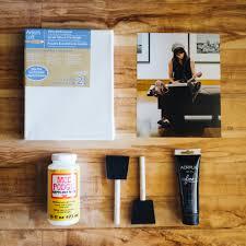 DIY canvas materials