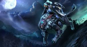 starrider of the crescent steel luna set preview dota 2 youtube
