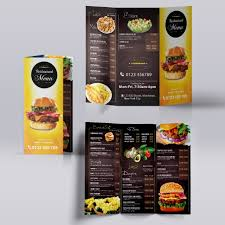 Tri Fold Menu Template Trifold Menu Template Template For Free Download On Pngtree