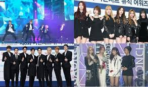 6th Gaon Chart Music Awards 2017 6th Gaon Chart K Pop Music Awards 2016 Results Winners