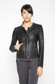 Quilted Leather Moto Jacket – Kiki Nass & Quilted Leather Moto Jacket Adamdwight.com