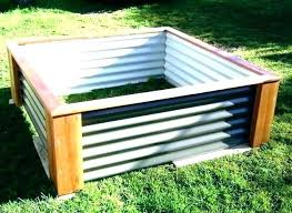 corrugated metal raised garden beds diy corrugated metal raised garden beds corrugated garden beds corrugated garden
