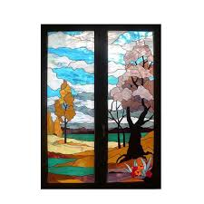 custom patterns diffe style tiffany stained glass decorative window