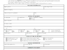 Hospital Incident Report Template Hospital Incident Report