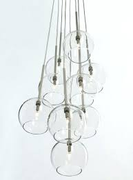 glass globe chandelier hanging ball chandelier easy pieces modern glass globe chandeliers easy pieces modern glass
