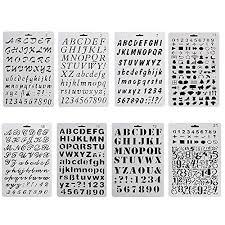 Stencil Letters Letter Stencils Amazon Co Uk