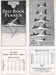 Stanley Plane Size Chart Everything You Ever Wanted To Know About Stanley Bed Rock