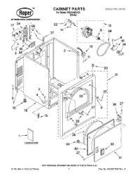 parts for roper redvq dryer com 01 cabinet parts parts for roper dryer red4440vq1 from com