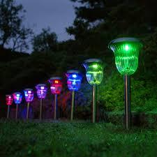 ideas for garden lighting fresh home depot lights 10 light outdoor clear hanging