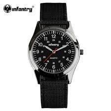 thin watches for men promotion shop for promotional thin watches infantry watch relogio military army watches luminous hands round face ultra thin nylon fabric watch for men military