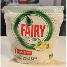 <b>Таблетки</b> для посудомоечной машины <b>Fairy Original</b> All in One 24 ...